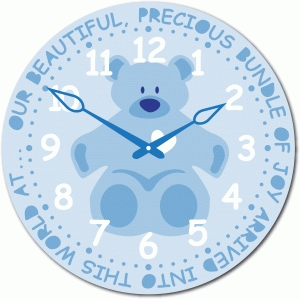 baby boy birth time clock