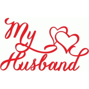 my husband hearts