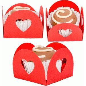 treat holder 4 hearts