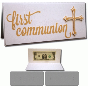 first communion 4x9 card