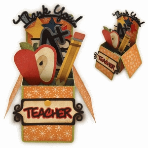 teacher appreciation box card
