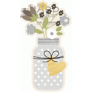 story of us mason jar