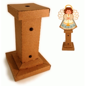 nativity 3d stand for angel box