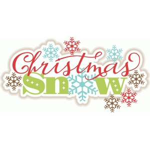 christmas snow title