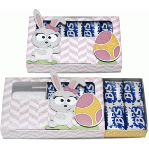 girl easter bunny box