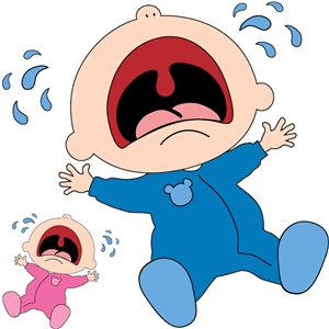 baby crying - from sw baby series