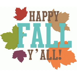 'happy fall y'all' phrase
