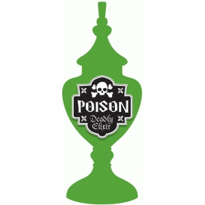 poison potion label