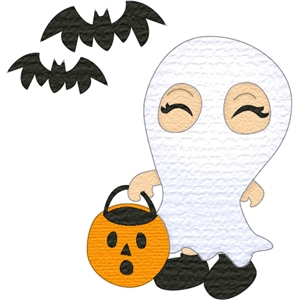 costume kids ghost