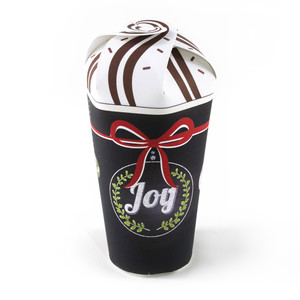 joy hot chocolate cup