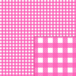 plaid white pink pattern
