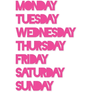 days of week