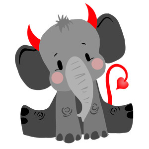 little devil elephant