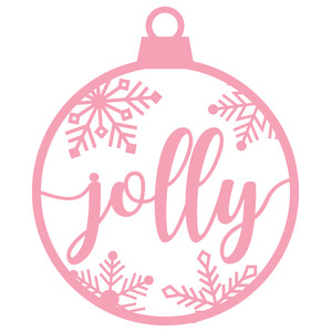 ornament - jolly