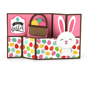wiper card easter bunny