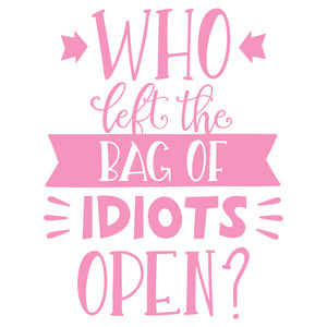bag of idiots phrase
