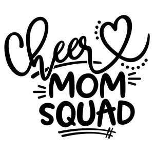 cheer mom squad