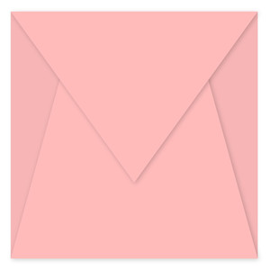 5x5 pointed envelope