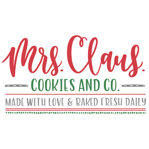 mrs claus cookies and co
