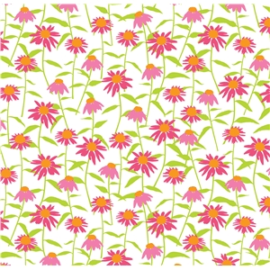 coneflower scatter pattern