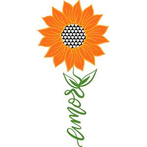 amor sunflower stem