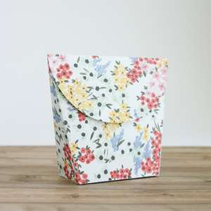 rounded treat bag
