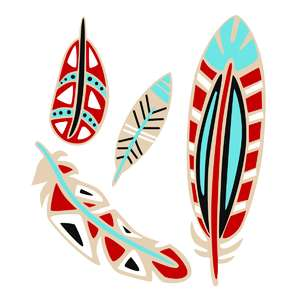 tribal feathers