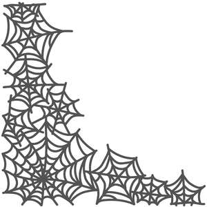 spiderweb border