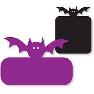 bat cards/labels