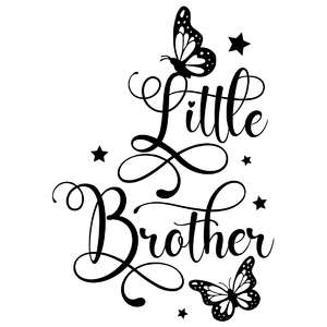 little brother butterfly quote