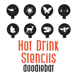 hot drink stencils doodlebat