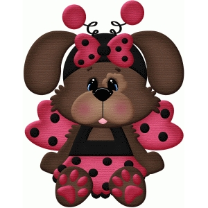 lady bug dog costume halloween