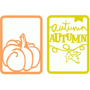 cards (autumn)