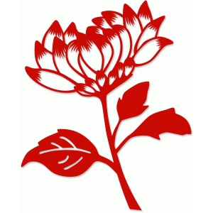 chinese paper cut small mum