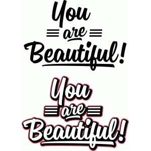 brush titles – you are beautiful