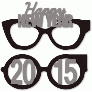 new year's 2015 party eye glasses