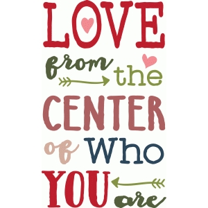 love from the center