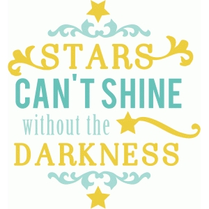 stars can't shine phrase