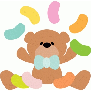 bear with jellybeans