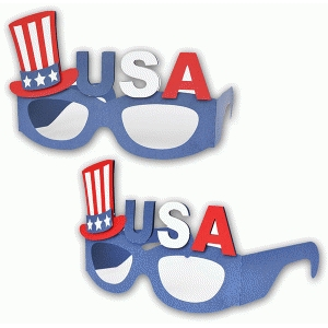 glasses 4th july