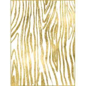 gold wood grain card