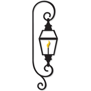 new orleans gas lamp