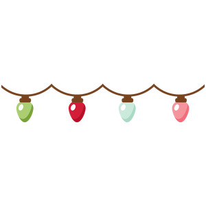 christmas lights banner