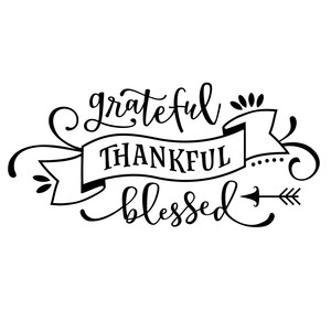 grateful thankful blessed phrase