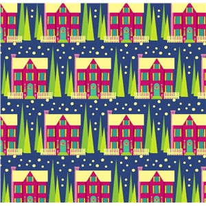 holiday house pattern