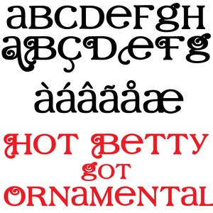 ld hot betty got ornamental bold