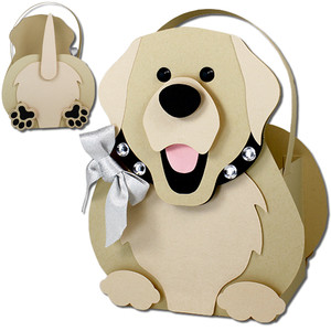 labrador retriever dog basket