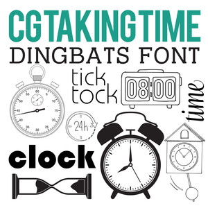 cg taking time dingbats