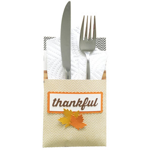 thankful utensil holder