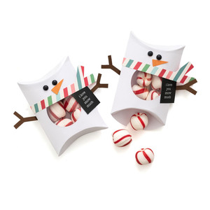 snowman pillow box